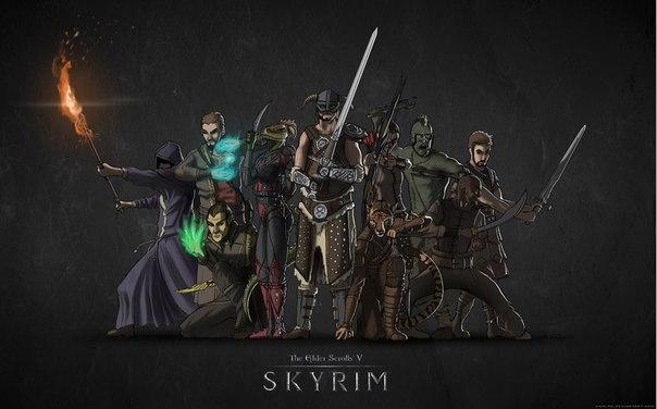 Интересные миссии в skyrim