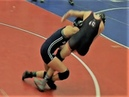 ANKLE PICK BROOMSTICK Kasey Baynon Wrestling Tough Opponent