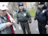 Попытка не дать раздать доклады про воровство на олимпиаде полиции Санкт-Петербурга