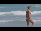Serinda Swan sets pulses racing with a derriere baring bikini in Miami