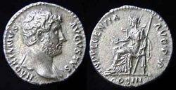 Древнеримские женщины-богини, монеты, Индульгенция