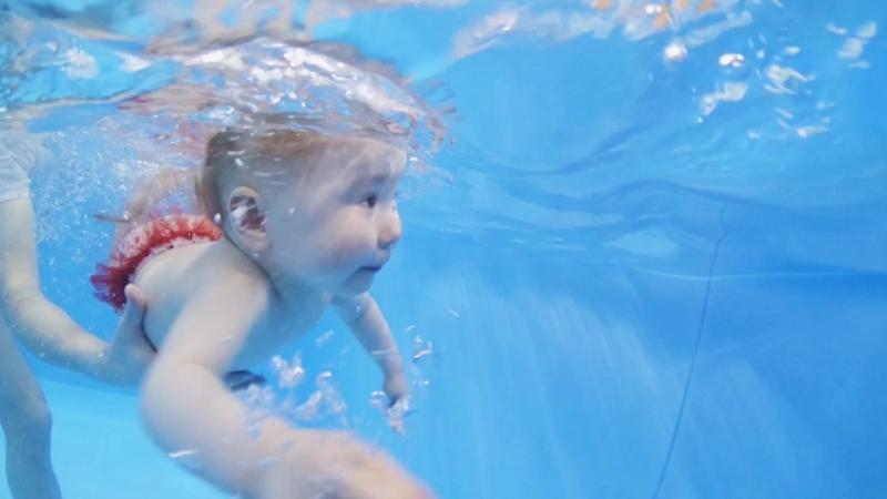 Подводная видеосъемка в центре семейного плавания АкваKid Смотрите как проводит лето активно и с пользой Мария
