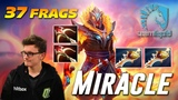 Miracle Ember Spirit 37 Frags EPIC RAPIER GAME Dota 2 TOP MMR