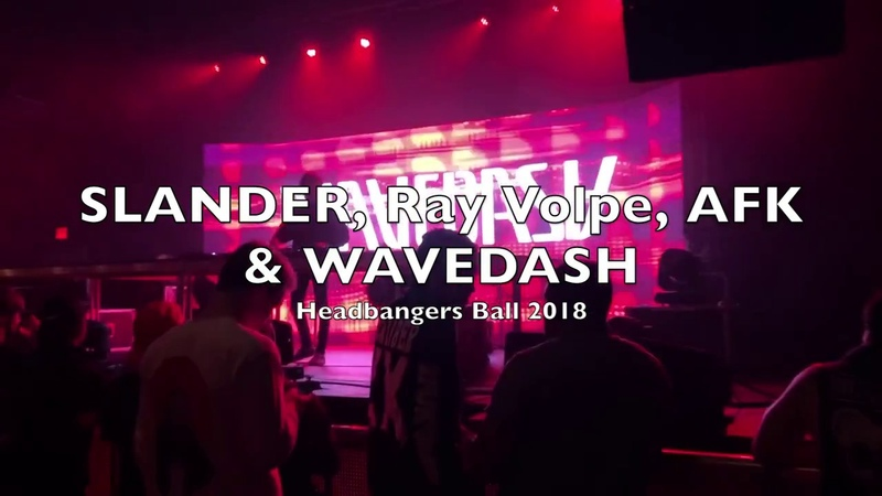 SLANDER Ray Volpe B2B AFK WAVEDASH Headbangers Ball Tour @ The Filmore 2018
