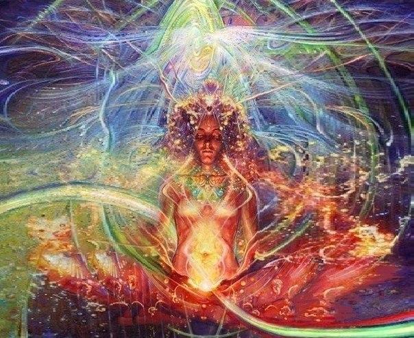 Этот канал находится в самом центре энергий человека