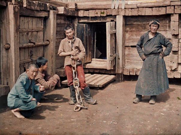 Монгольская тюрьма (Урга, 1913 год)