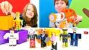 Roblox YENİ oyuncak açılımı. Erkek çocuğu bilgisayar oyunları
