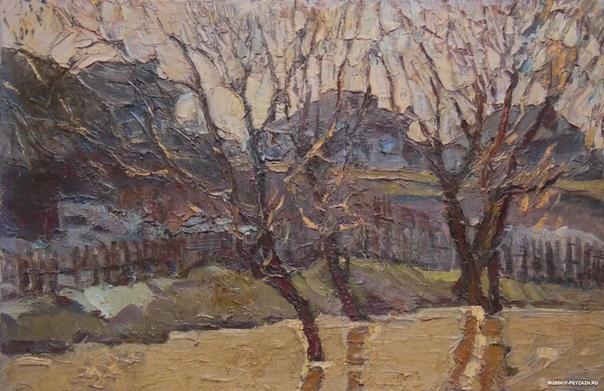 Владимир Гаврилов (1923-1970 - советский художник. Родился в Москве. Его отец, геолог, неплохо рисовал. Владимир с детства любил смотреть, как отец рисует, потом стал рисовать сам. С 1935 года