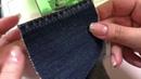 Толстые и тонкие Ткани на бытовой швейной машинке!