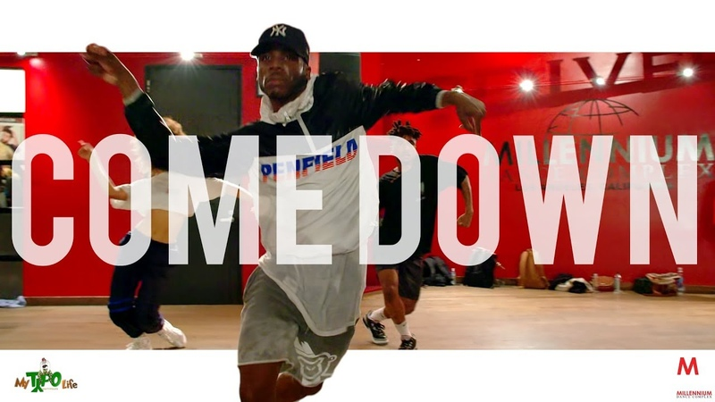 Anderson Paak - Come Down | Choreography with Mykell Wilson