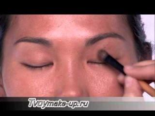 Дневной макияж для азиатского типа кожи
