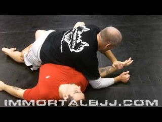 Half Guard Arm Crush (Immortal BJJ - Raleigh, N.C.)