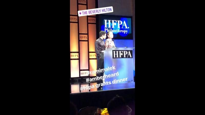 9 августа 2018: HFPA