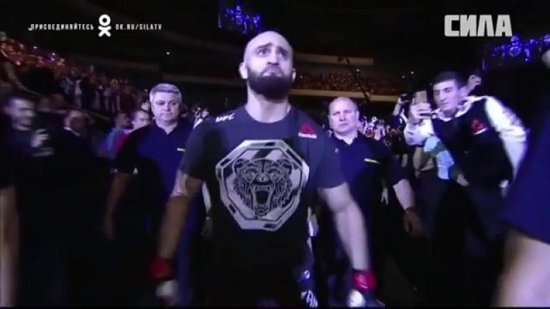 Выход на бой Адама Яндиева в UFC