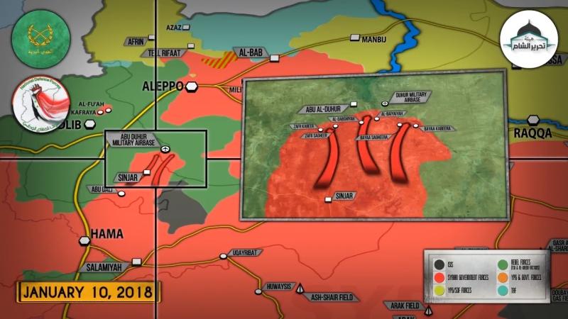 Syrian War Report 11.01.18: SAA Allies launches final push to capture Abu al-Duhur!