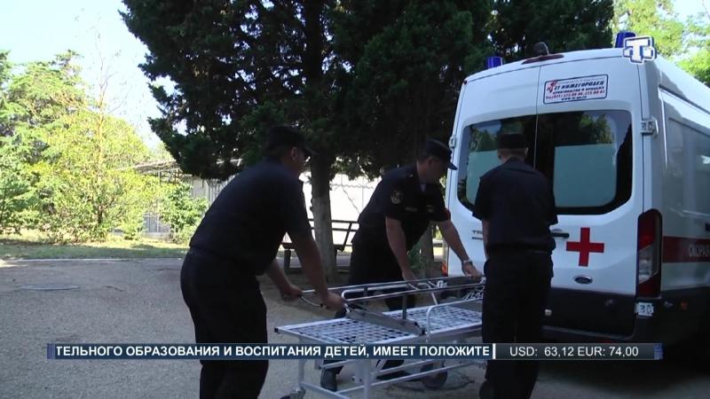 Специалисты военно-морского клинического госпиталя Черноморского флота провели учения