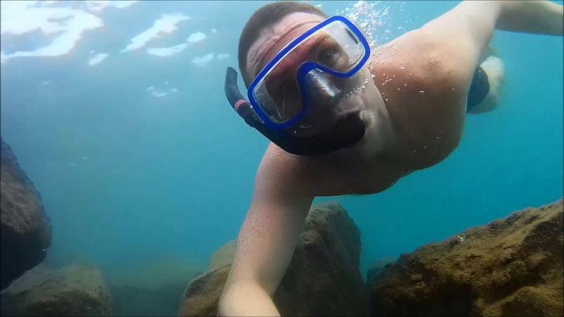 Нырки Средиземное море 2018 (Авсаллар, Турция)