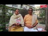 Harilila Prabhu and Divyalila Mataji (JPS, Mayapur-India)