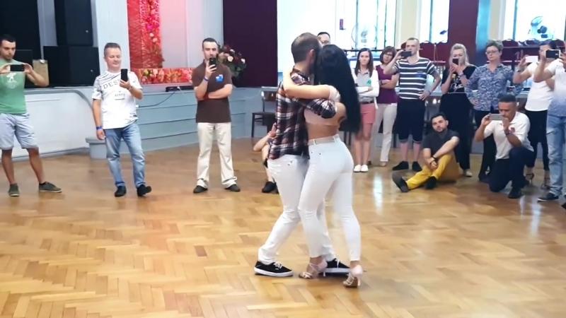 Kristofer Cristina - Kizomba Fusion - After Class in Katowice - Poland