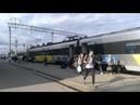Поїзд ІНТЕРСІТІ HYUNDAI_HRCS2-001рейсом№716 Пшемисль -Київ прибуття/відправлення по.ст.Тернопіль
