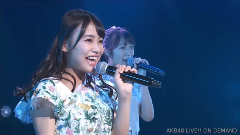 AKB48 Fujita Nana Graduation Memorial Stage (2018.10.29)