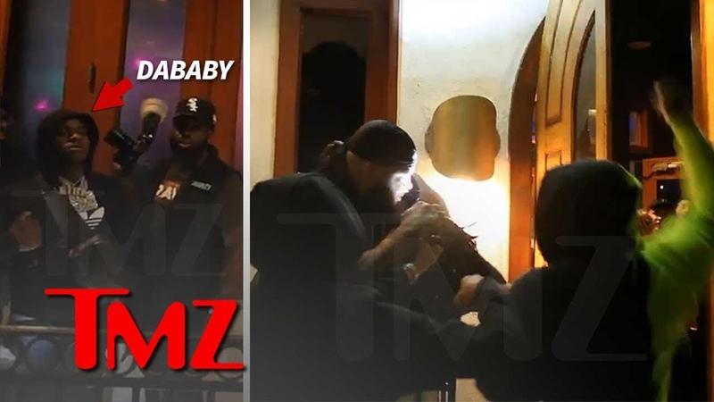 Телохранитель избивает фаната DaBaby