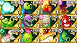 Plants vs Zombies 2 MOD All Plants Premium Mastery 999999 Vs All Freakin' Zomboss