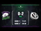 Virtus.pro 0:2 Vici Gaming. Bo2