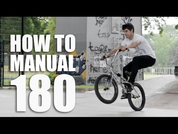 How to manual 180 - Как сделать мэнуал 180 на BMX | Школа BMX Online 60