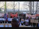 Единый день протеста в Архангельской области против мусорной мафии 2 декабря 2018 года