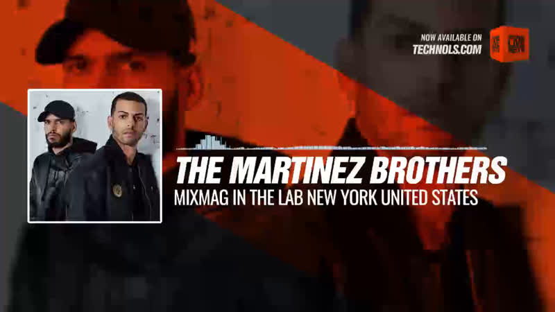 The Martinez Brothers - Mixmag In The Lab New York United States Periscope Techno music