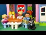 Мультик Lego Duplo Веселая семья Лего покажет как они строили дом из умного конструктора