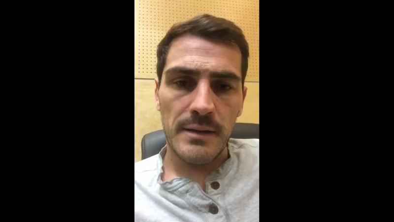Iker Casillas DesdeMadridConCasillas espisodio 12 facebook 01 07 2018