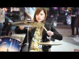 Уличная барабанщица / Everybody's fool (Evanescence Cover)