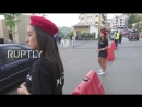 Lebanon Female police officers in shorts cause a stir