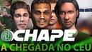 CHAPE - A CHEGADA NO CÉU   Cenas inéditas de fortes emoções.
