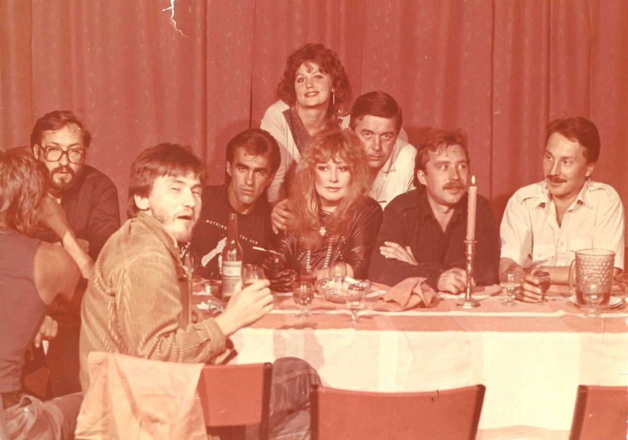 «Наутилус Помпилиус» с Аллой Пугачевой в Свердловске, 1988 год.