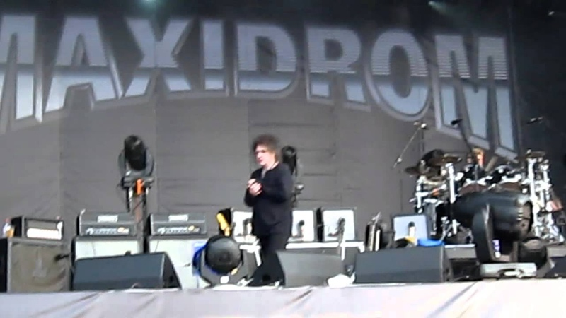 The Cure - Plainsong. Moscow/ Maxidrom/ 11.06.2012 г.