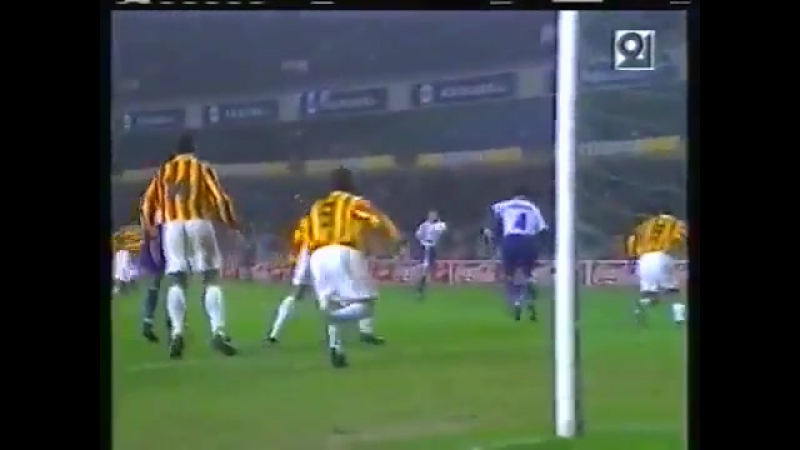 Кубок УЕФА 1996/97. Андерлехт (Бельгия) - Алания (Владикавказ) - 4:0 (2:0).