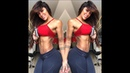 Super cool and very sexy fitness model shakes legs and ass SONIA ISAZA
