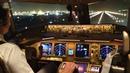 Lufthansa Cargo Boeing 777-200F Night Takeoff from Tokyo Narita towards Seoul Incheon AirClips