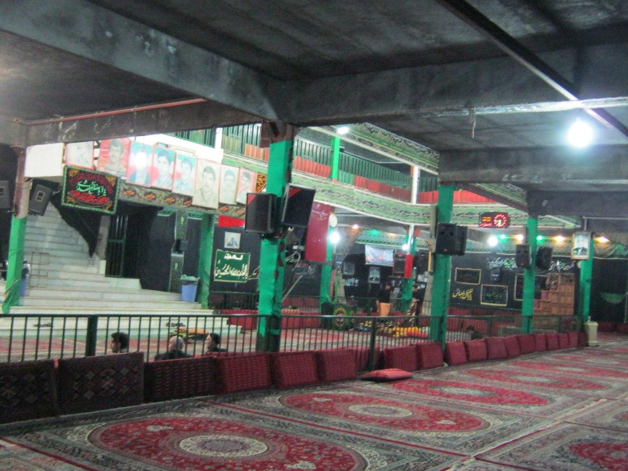 ночлег в Хуссейние (Иран)
