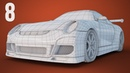 CGC Classic Modeling a Porsche Pt 8 Grill and Topology Cleanup Blender 2 6