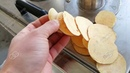 Potato cutting machine for chips good thinness shape video show