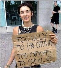 Глупая Женщина