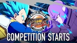 Dragon Ball FighterZ - PS4XB1PC - Competition Starts (World Tour Launch Trailer English)