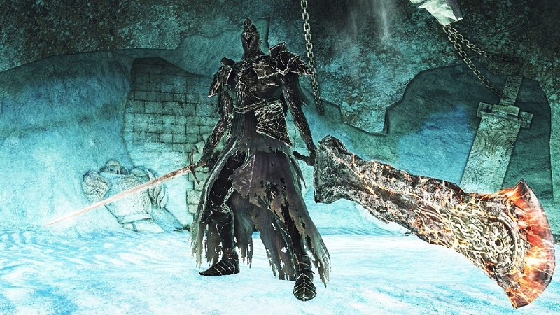Dark Souls 2: Fume Knight Boss Fight (4K 60fps)