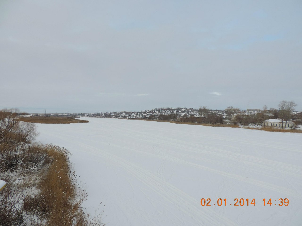 Река Увелька (09.01.2014)