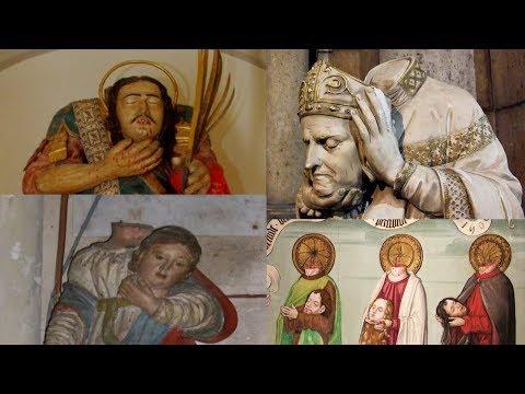 Сергей Игнатенко: Почему святые снимали голову?