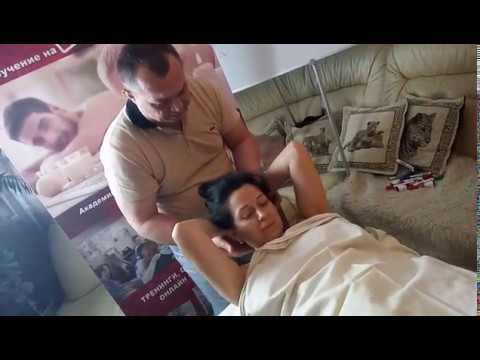 Мануальная терапия в действие, шейный отдел, демонстрирует Сергей Иноземцев